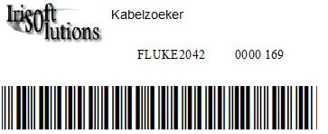 Barcodes voorbeeld Venice